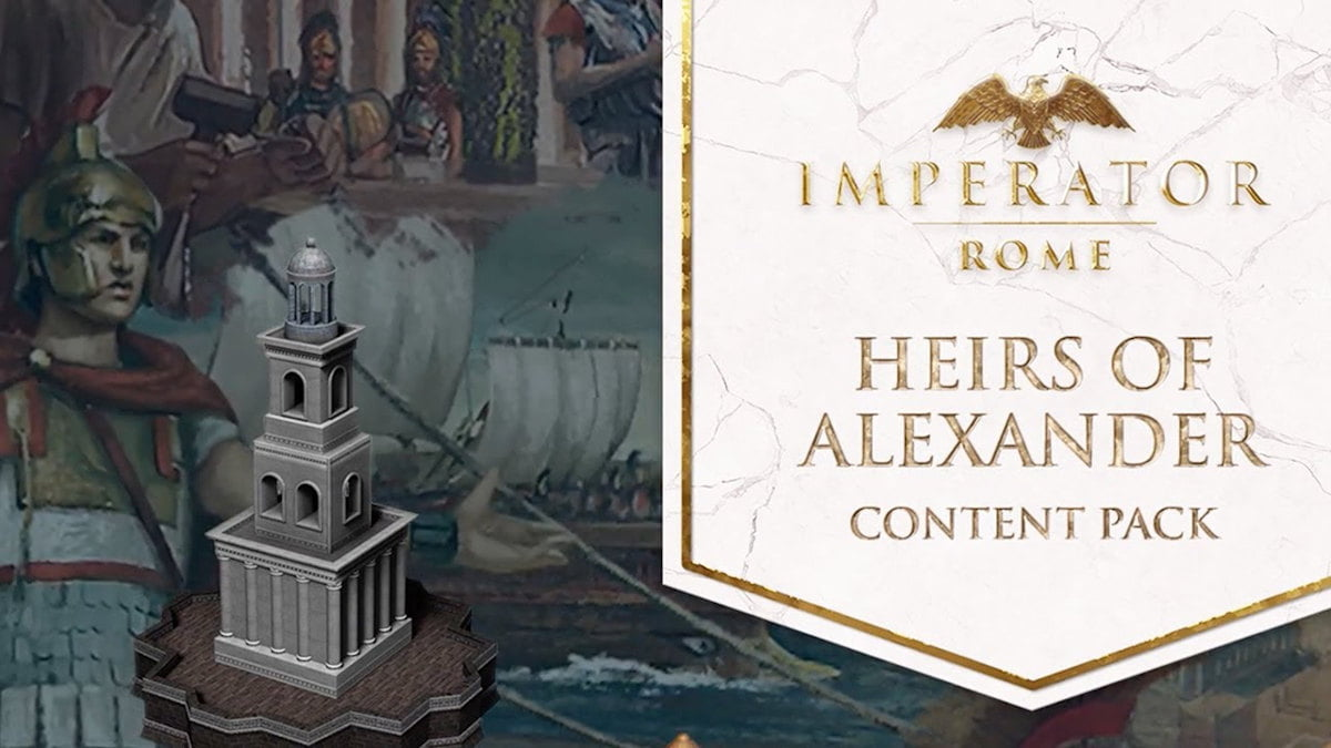 Heirs of Alexander releases for Imperator: Rome