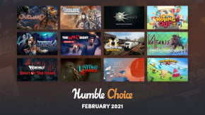 what games are in humble choice february 2021