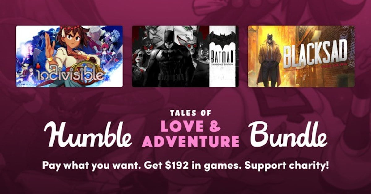 Humble Tales of Love and Adventure Bundle is out