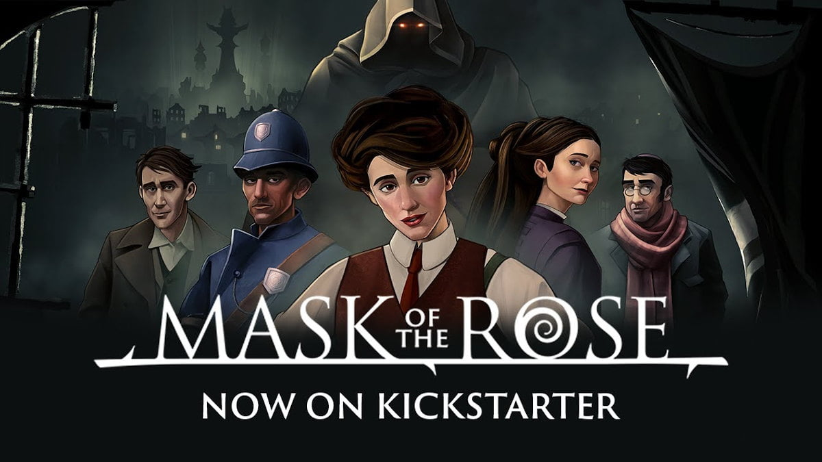 mask of the rose seeks funds for a romantic visual novel on kickstarter for linux gaming mac windows pc