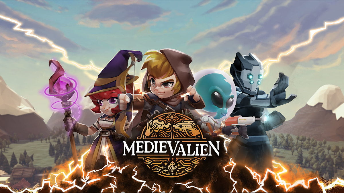 Medievalien wizard action hits Early Access