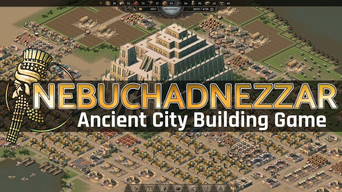 nebuchadnezzar historical city builder in ancient mesopotamia releases in linux gaming and windows pc
