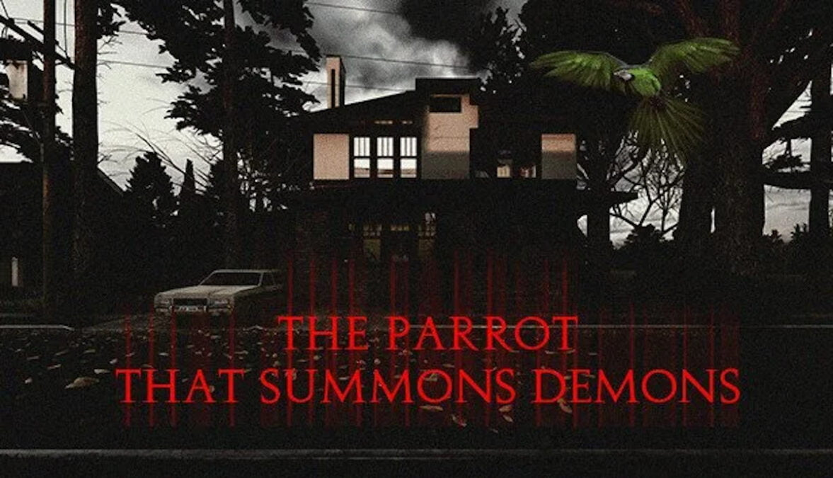 the parrot that summons demons tragedy horror fmv demo is live in linux gaming mac windows pc