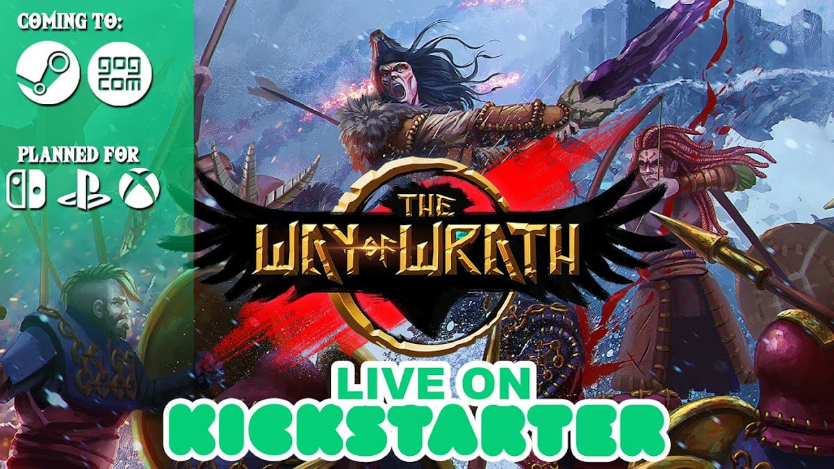 The Way of Wrath tactical RPG hits Kickstarter