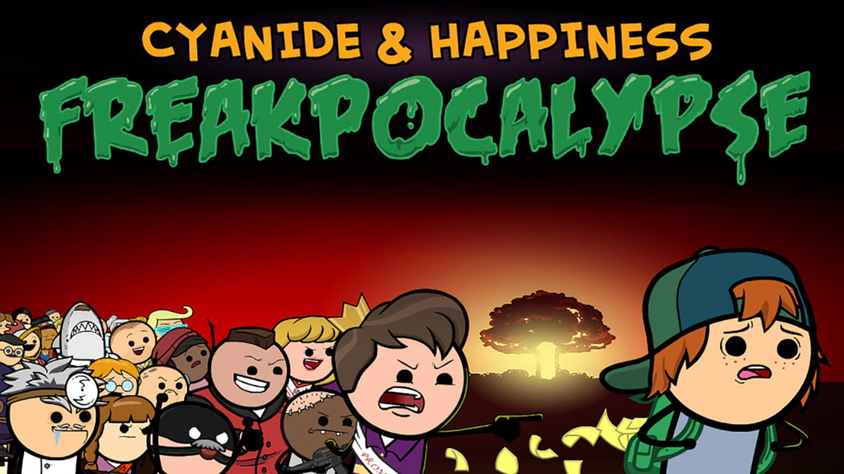 cyanide & happiness - freakpocalypse point and click adventure release for linux gaming mac windows pc