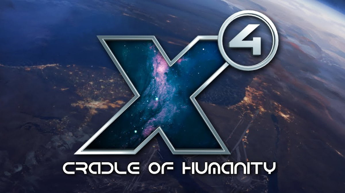 Free 4.00 update and X4: Cradle of Humanity debuts