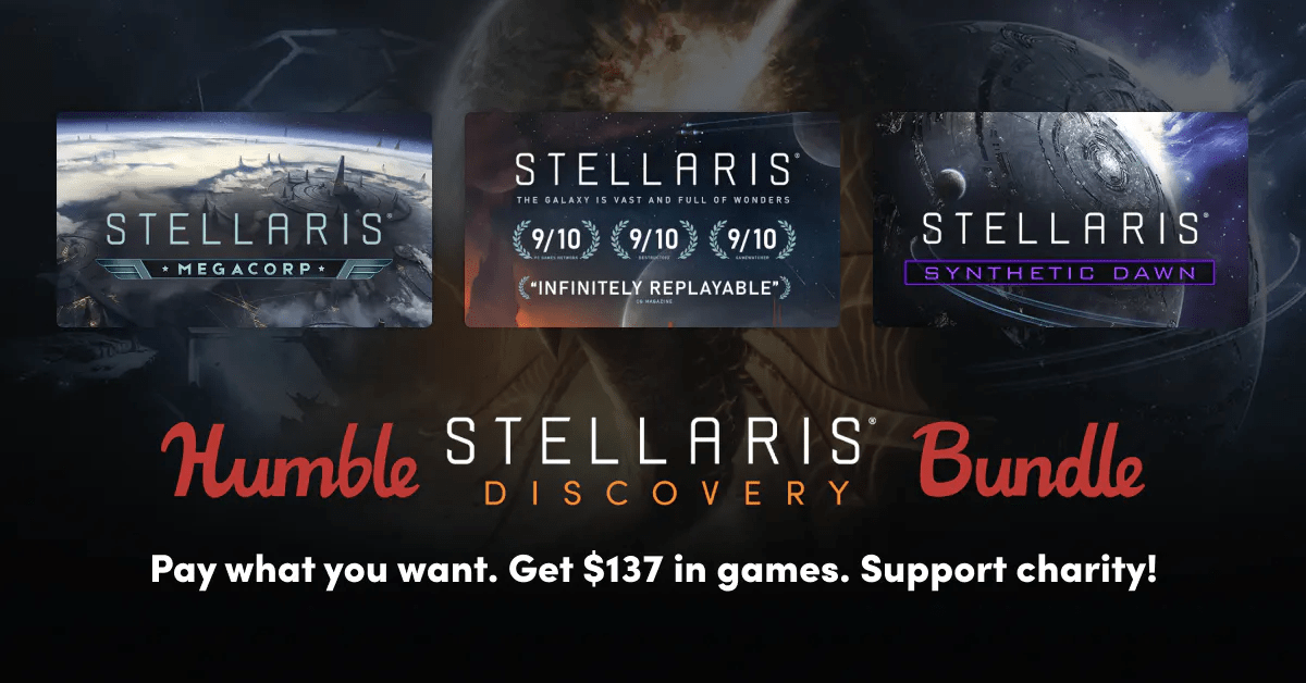 Humble Stellaris Discovery Game Bundle launches