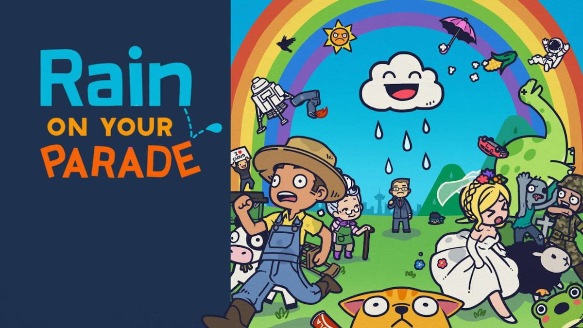 rain on your parade slapstick comedy game has a release date for linux gaming mac and windows pc