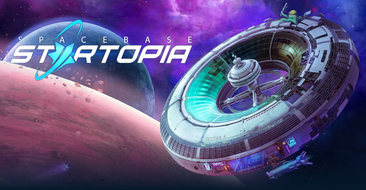 spacebase startopia space station management sim releases in linux gaming with mac and windows pc