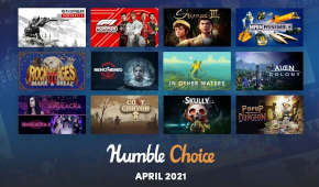 what games are in the april humble choice 2021