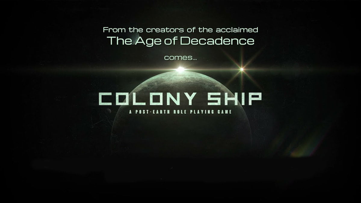colony ship turn-based party-based to get support for linux and mac beside windows pc