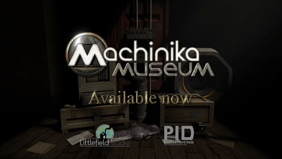machinika museum puzzle game testing support for linux gaming beside windows pc