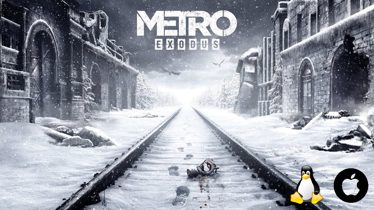 Metro Exodus first person shooter releases support