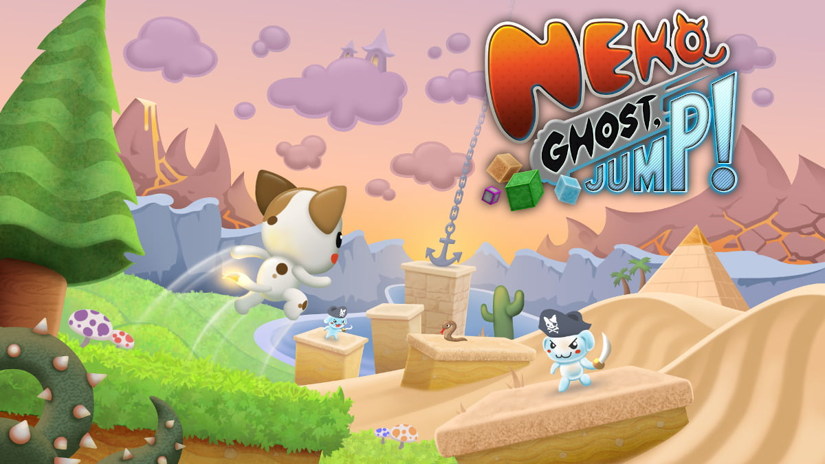 neko ghost, jump! platformer release coming summer 2021 for linux and windows pc