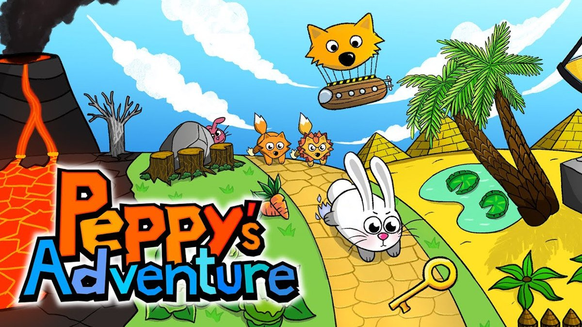 Peppy's Adventure action puzzle game coming soon