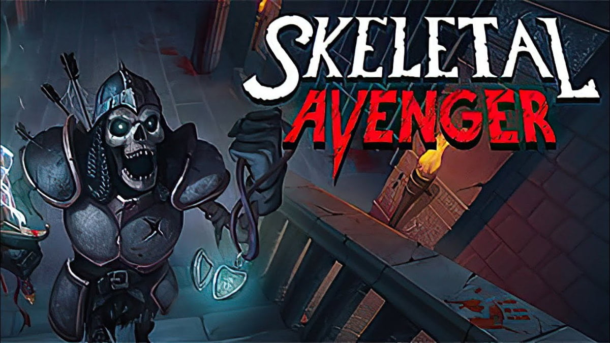 Skeletal Avenger fast paced hack'n'slash release