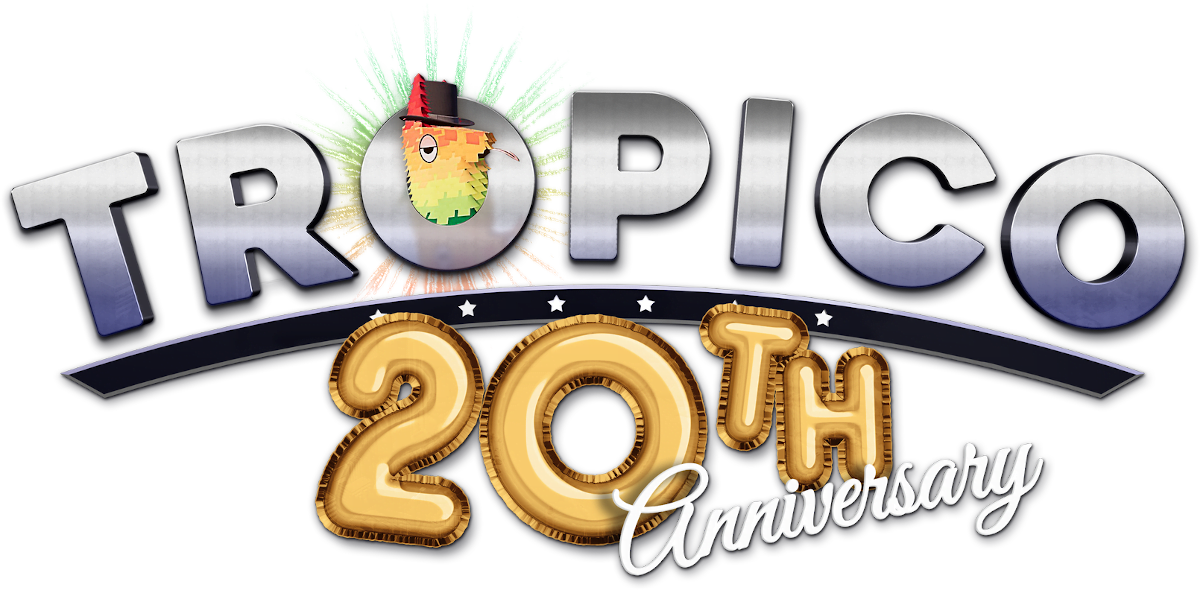 tropico celebrates 20th anniversary with new content in Tropico 6 on linux mac and windows pc