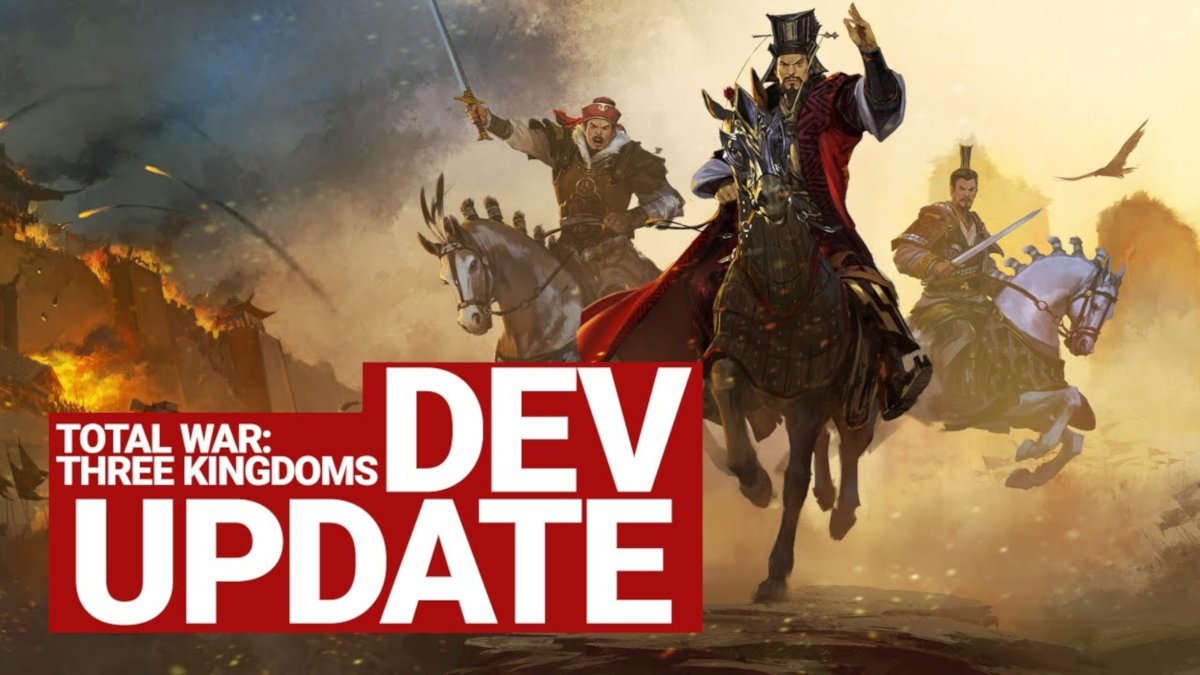 1.7.1 patch for total war: three kingdoms announced for windows pc but not for linux