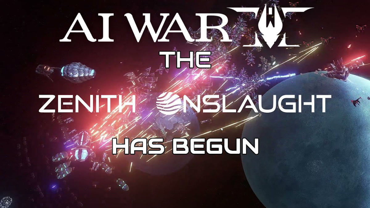 ai war 2: zenith onslaught new expansion releases for linux mac and windows pc
