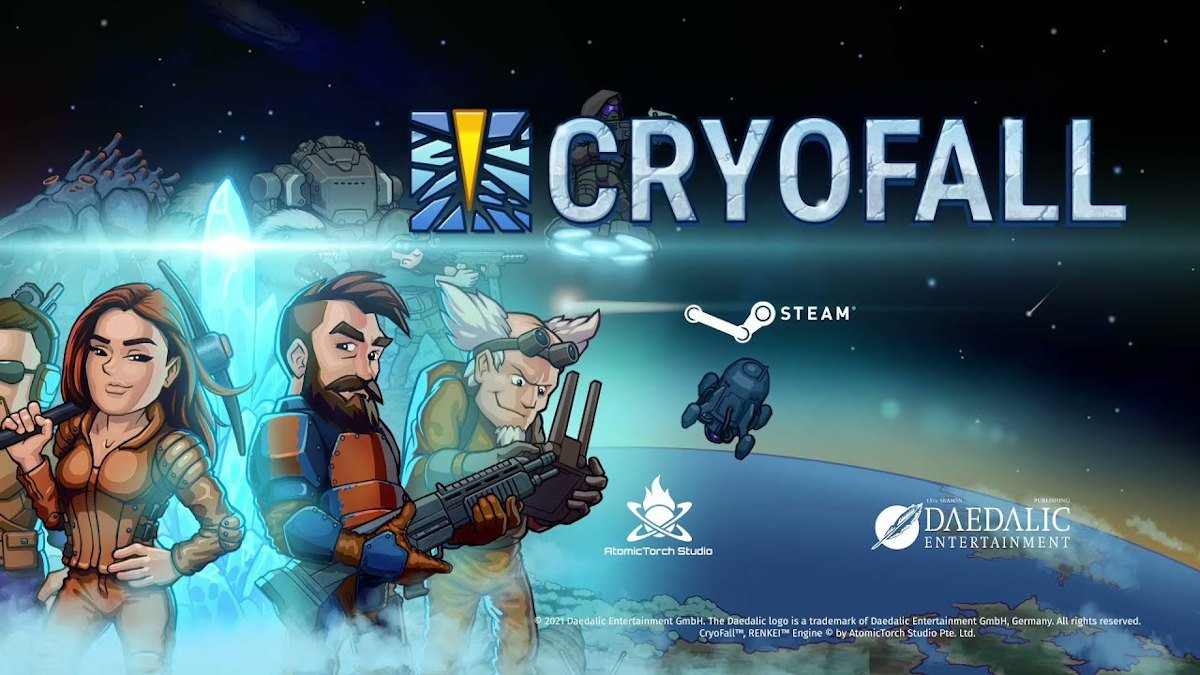 cryoFall sci-fi multiplayer colony sim survival to rely on proton for linux support with windows pc