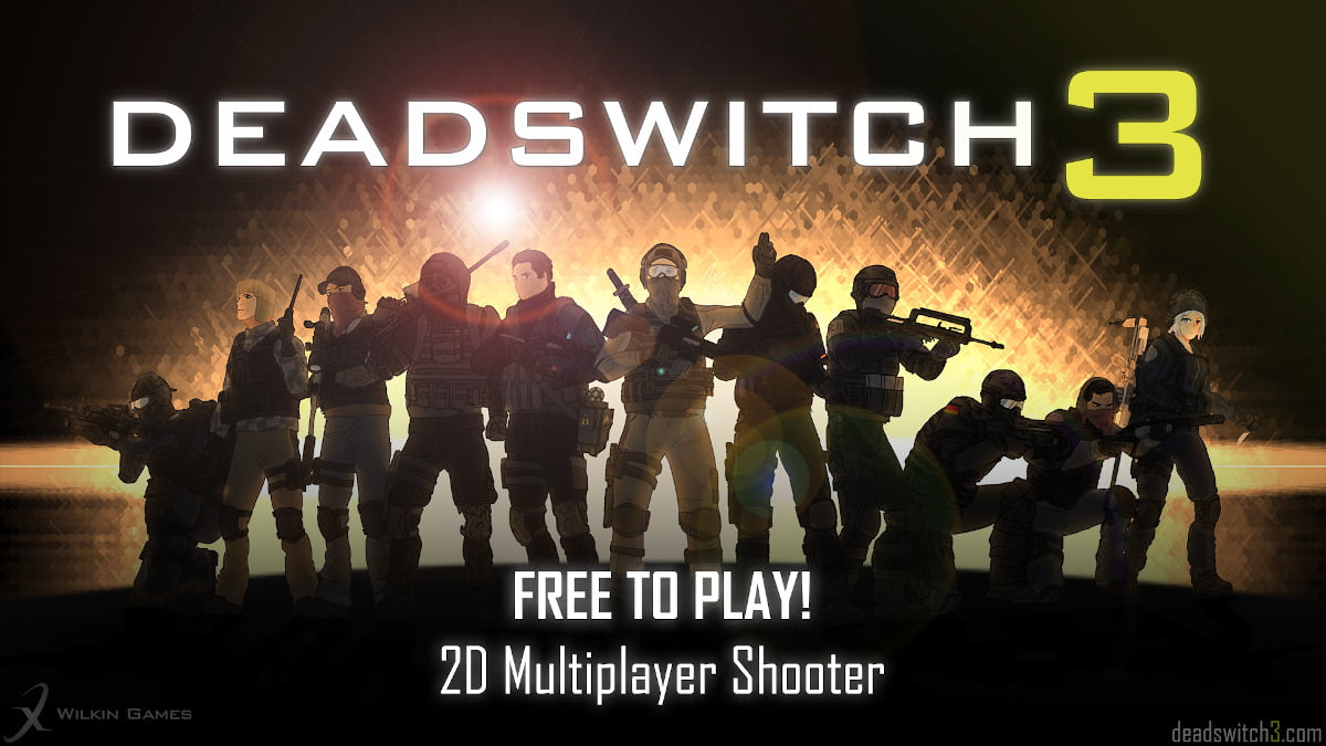 Deadswitch 3 2D multiplayer shooter to hit Steam