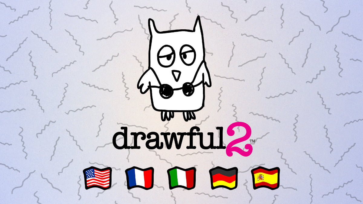 drawful 2 party game gets an international update in linux gaming mac windows pc