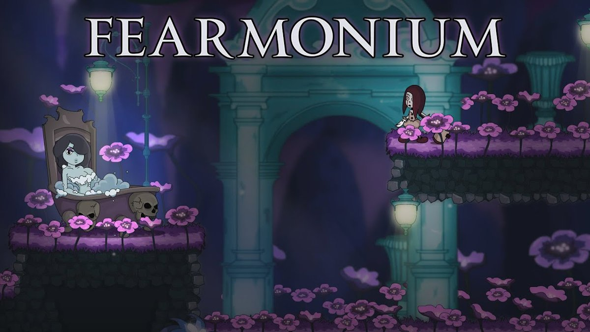 fearmonium the psychedelic metroidvania releases in linux gaming mac and windows pc
