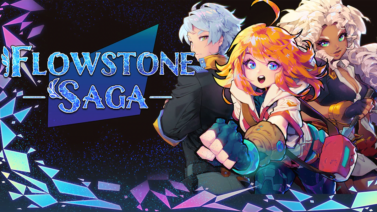 Flowstone Saga adventure out now on Kickstarter