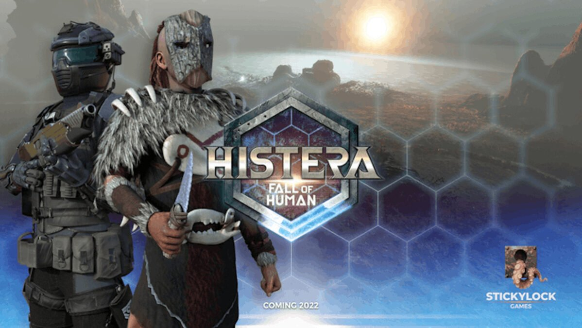 Histera multiplayer first-person shooter on support