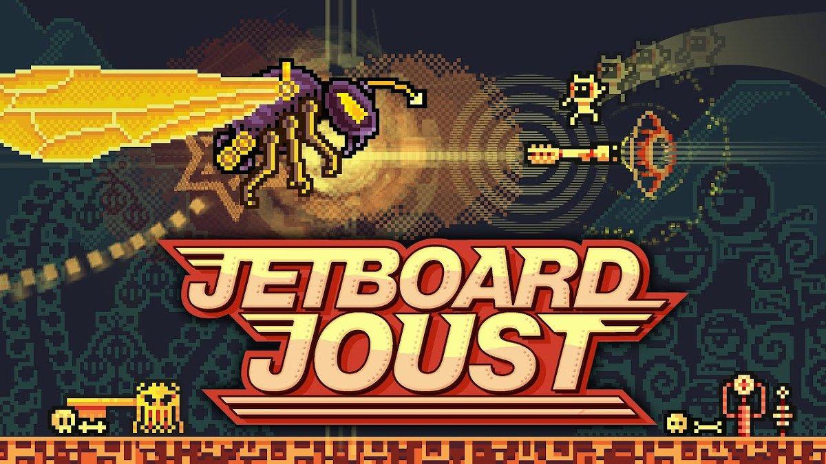 Jetboard Joust arcade style SHMUP goes native