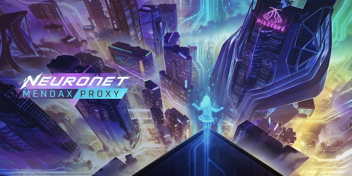 neuronet: mendax proxy character driven adventure revealed with support in linux gaming mac and windows pc