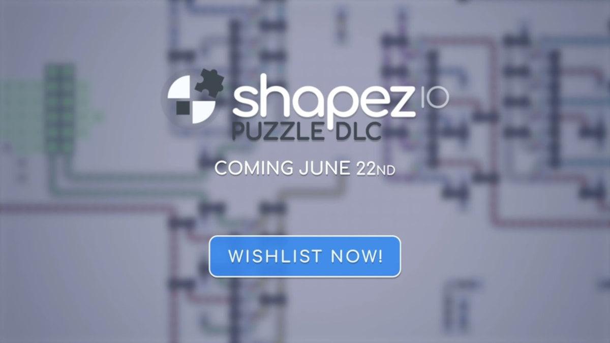Puzzle DLC announced for factory builder Shapez.IO