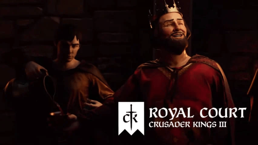 royal court expansion coming for crusader kings iii with support in linux gaming mac and windows pc