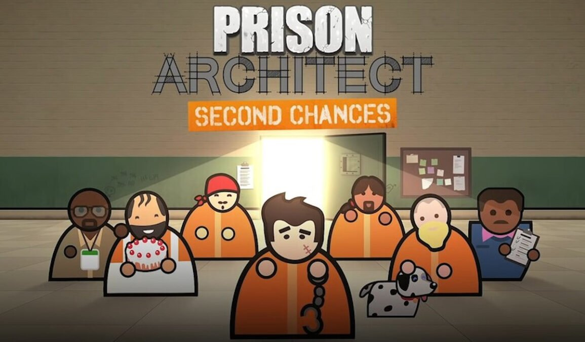 second chances expansion will help reform in prison architect on linux mac and windows pc