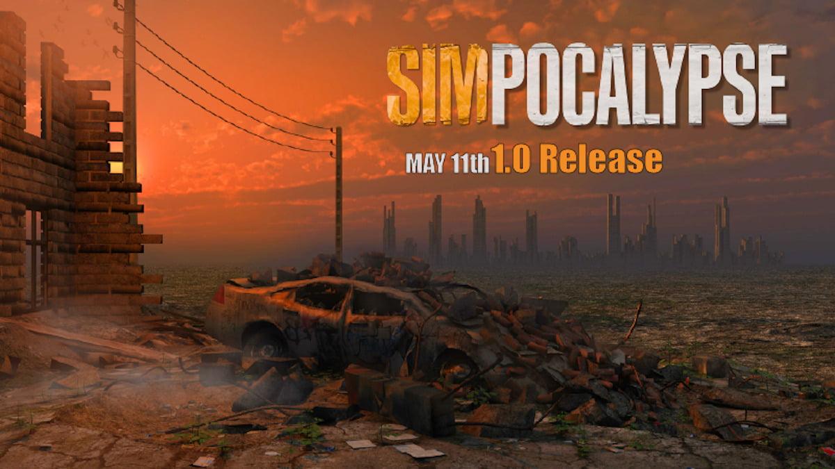 SimPocalypse rebuild civilization in the full release