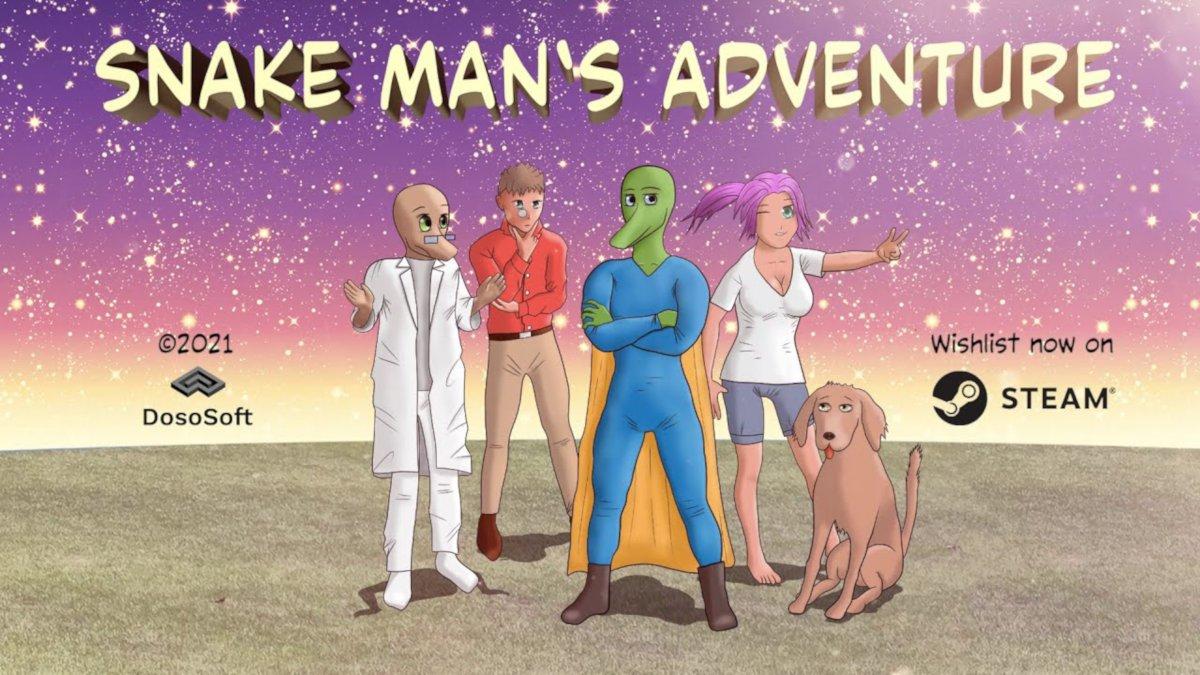 Snake Man's Adventure platform adventure coming