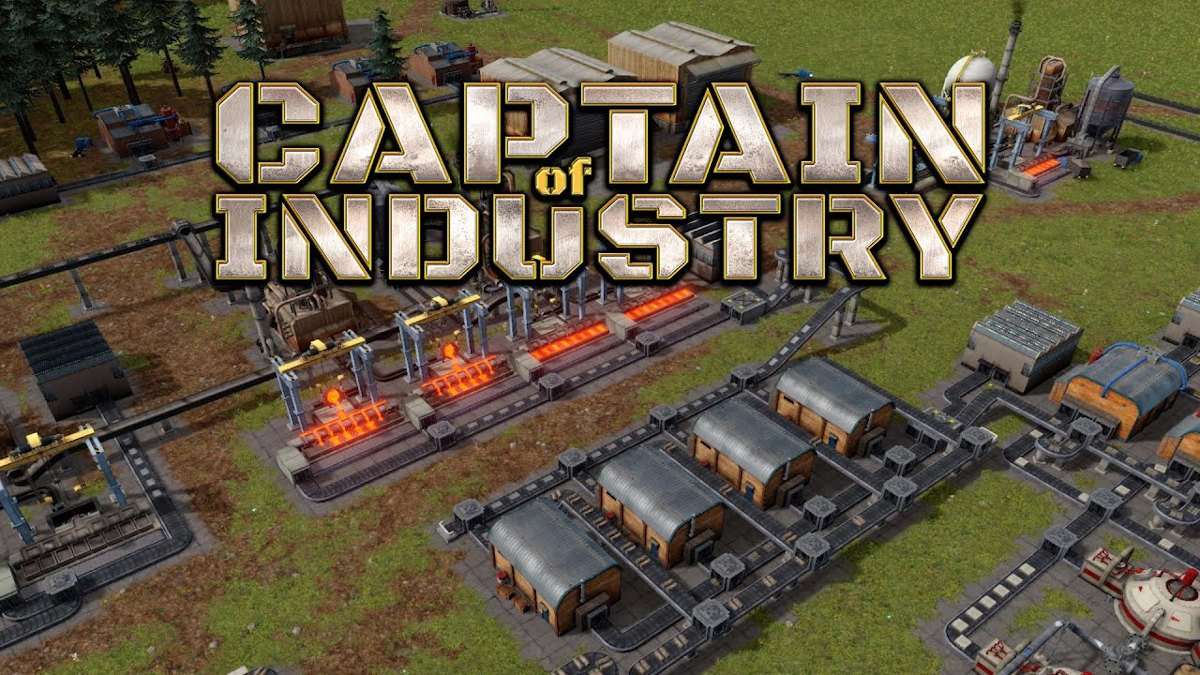 Captain of Industry factory sim close to funding goal