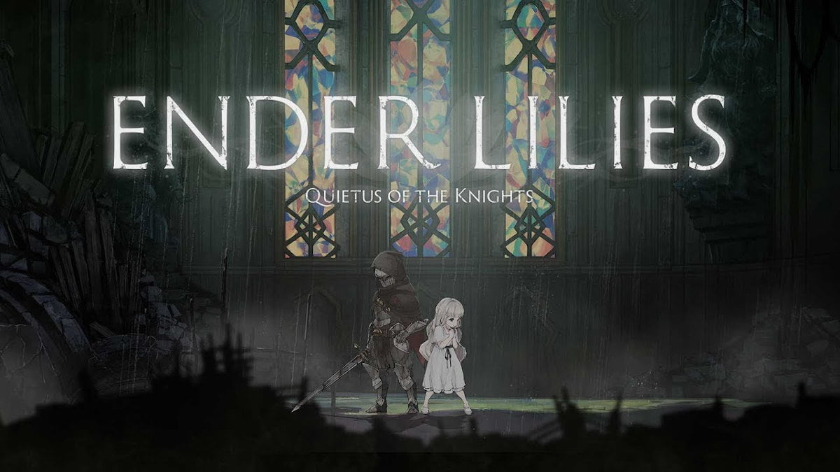 ender lilies quietus of the knights the games quiet release onto linux with windows pc