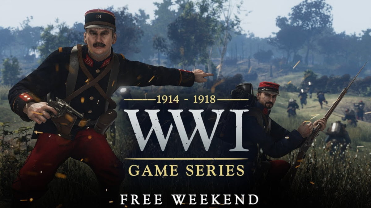 free weekend for verdun and tannenberg via linux mac and windows pc