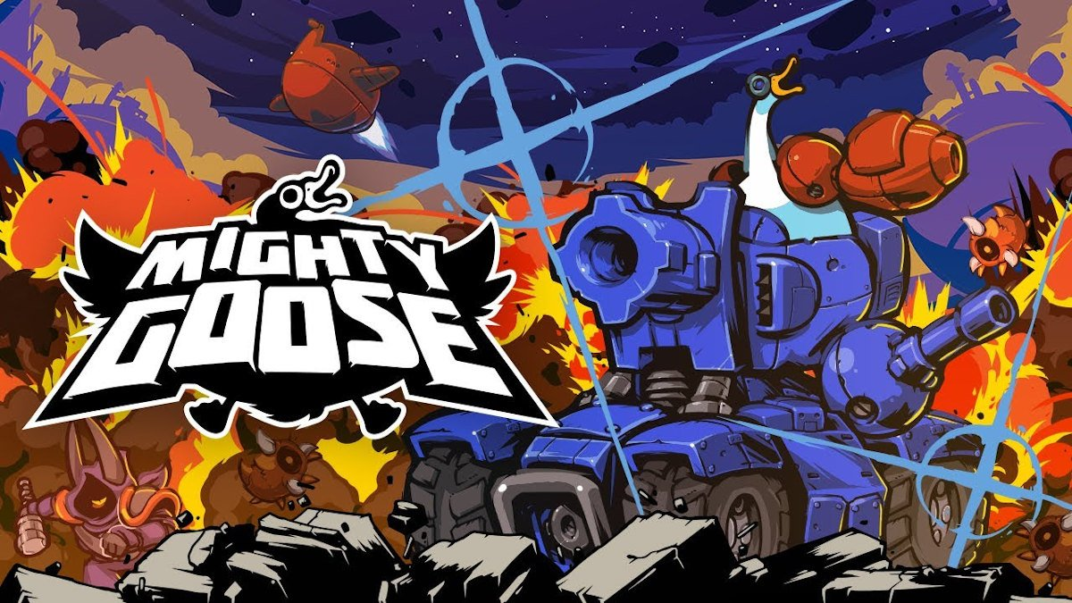 mighty goose fast paced run and gun releases today in linux gaming and windows pc