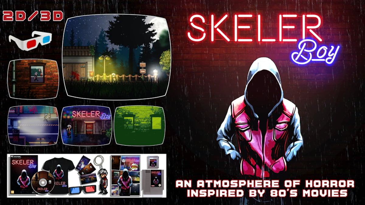 Skeler Boy pixel-art horror hits Kickstarter