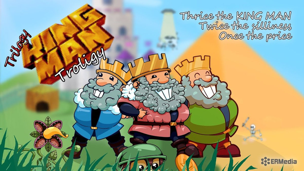 trilogy king man saga makes a quiet release onto linux gaming mac and windows pc