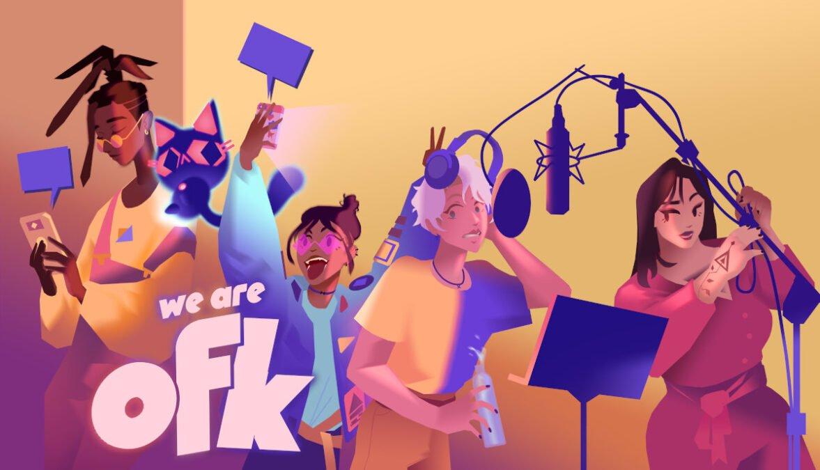 we are ofk interactive story gets its first gameplay trailer via linux gaming mac and windows pc