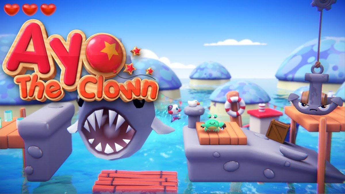 ayo the clown platformer games release date is due this month on linux mac and windows pc