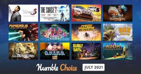 what games are in the humble choice july 2021 bundle