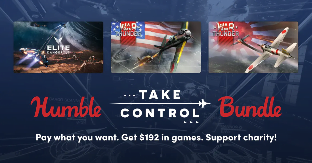 Humble Take Control Bundle offers some support