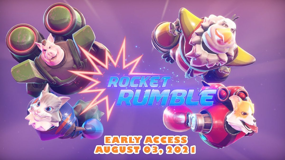 Rocket Rumble gets an Early Access release date