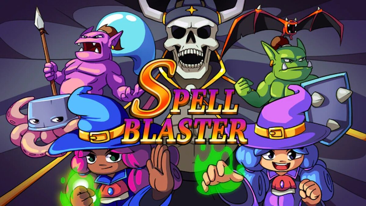 spell blaster top down retro action games out on kickstarter for linux mac and windows pc