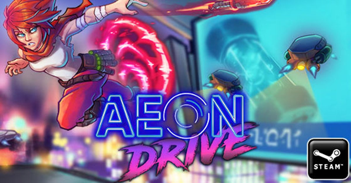 aeon drive action platformer to release next month on linux mac windows pc