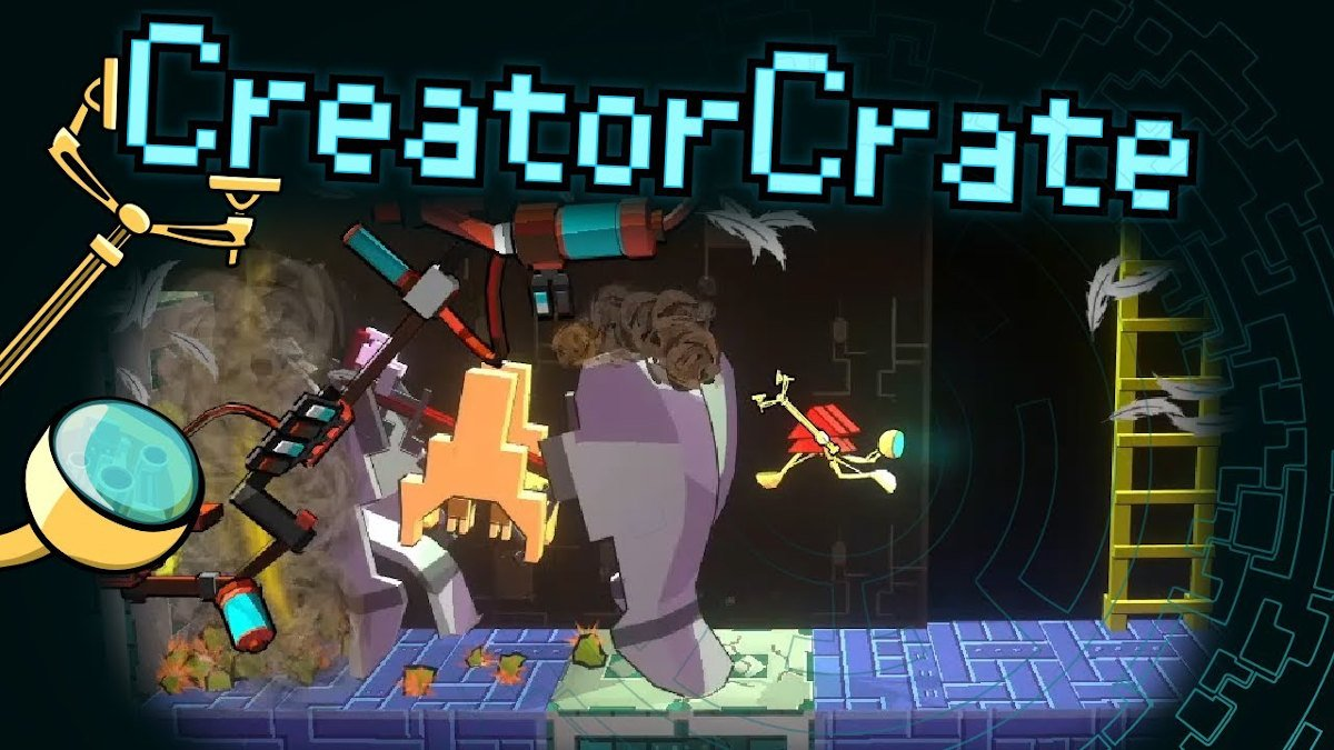 creatorcrate action and slapstick chaos game releases on linux and windows pc